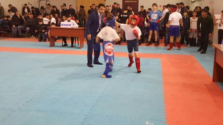 Our wushu-fighters in the tournament dedicated to the Khojaly genocide
