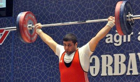 Our weightlifter became the champion