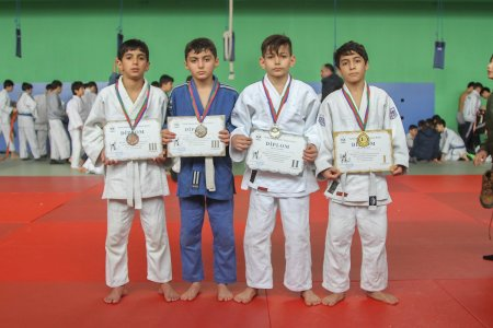 "The Open Judo Championship of ""Neftchi Sports Club"" was held"