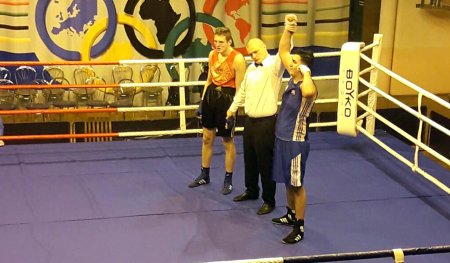 Our boxer won a medal in Minsk