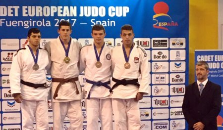 Our judoka won a silver medal of the European Championship