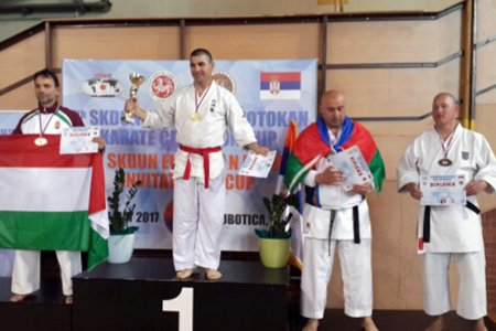 Our karateists won 6 medals in the European Championship