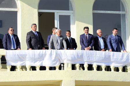 The opening ceremony of the XXV Spartakiade of oil, gas and chemical industry workers was held